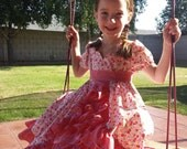 Emily Ruffled Panel Dress