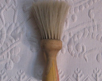 Neck Duster Brush . Barber Brush . vintage brush