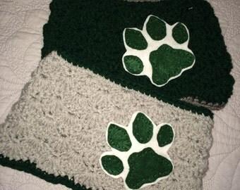 Ohio University Bobcats Crochet Headwrap Size Adult