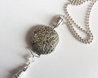 Locket Lanyard Necklace