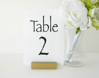Antique Gold Table Number Holder (ON SALE)