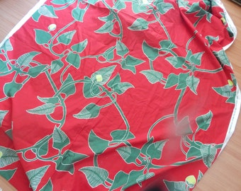 Marimekko Fabric. Irmeli /by the yard /Upholstery /Cotton /fabric, Reduced