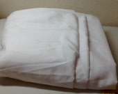 White Polyester Lining Fabric sold by the yard, 45 inches wide