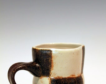 Ceramic Checkered Mug