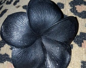 Black plumeria, Plumeria, Pinup, Retro, Tiki flower, Plumeria clip, Skull flower,Black flower, Black clip, Msformaldehyde