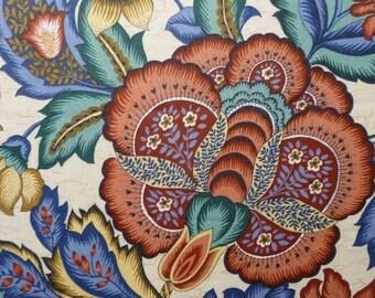 Waverly Floral - Destash Fabric - Cotton - Large Print - Wide