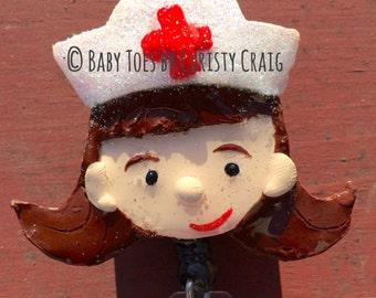 Nurse Badge Holder - Customizable