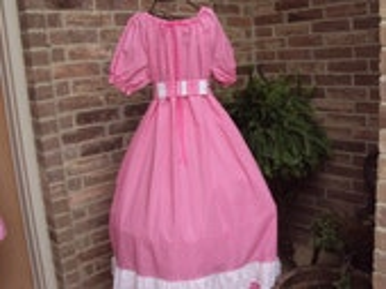 Party Prairie dress--teen or adult, party dress,So. Belle, Victorian, Civil War  OOAK