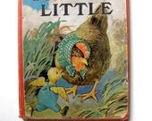 Vintage Chicken Little Book, 24 Color Illustrations, Frame-Worthy Pages