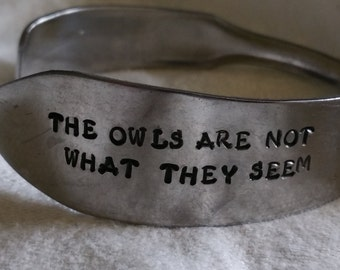 the owls are not what they seem knife bracelet