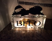 BFLO glass block light... Buffalo