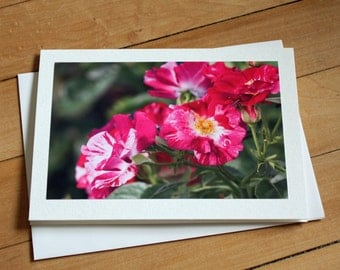 Handmade Greeting Card with Roses