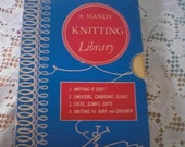A Handy Knitting Library set of Books 1949