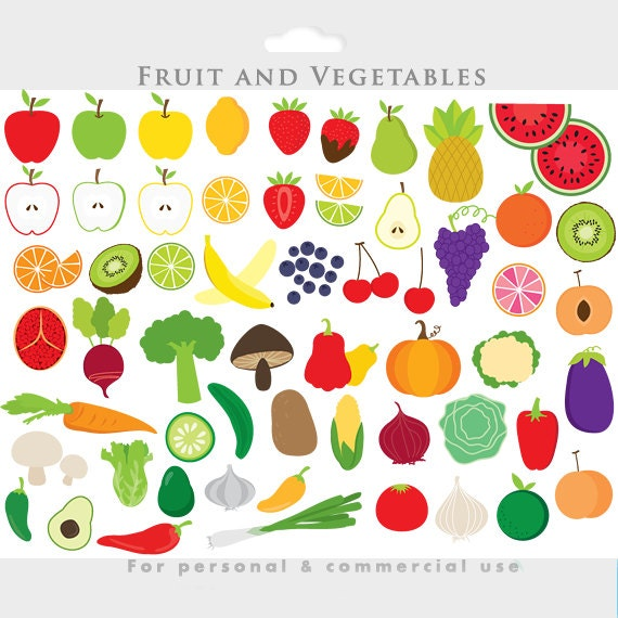 Fruit Vegetables Clip Art Vegetable Clipart Fruit Clip