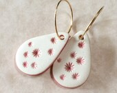 Twinkle Pink Porcelain Drops Earrings