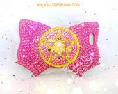 SAILOR MOON Crystal | Bedazzled iPhone 5s Case | Usagi | Bowknot | Sparkle Rhinestones & Pearls - PREORDER