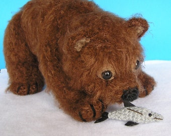 GRIZZ LEE BEAR Pdf crochet pattern