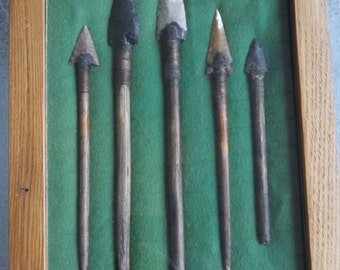 Stone Age Spear / Arrow Fore Shaft Replications - Museum Quality Pieces - Free Shipping
