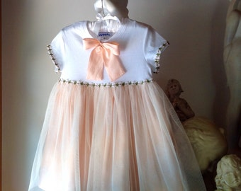 Girl Princess Party Tulle Dress Size 4