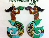 Mermaid Lfye Earrings