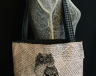 Owl Be Back Lightweight Bag