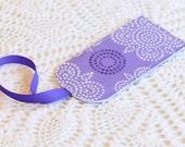 Lilac - Luggage Tag