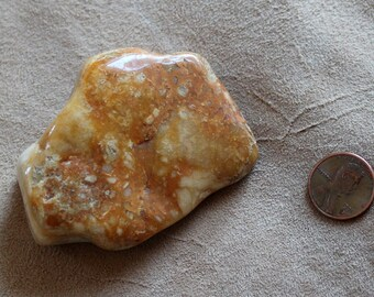 Large tumbled Oregon beach agate for crafts, jewelry and more 4oz