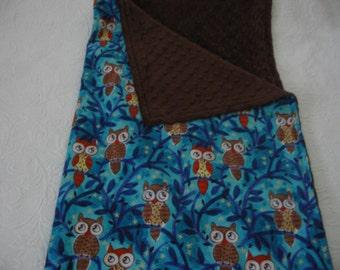 Owl Travel Blanket