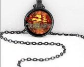 Firefly Necklace, Firefly Pendant, Firefly TV Show Bohemian Gypsy Jewelry FF3