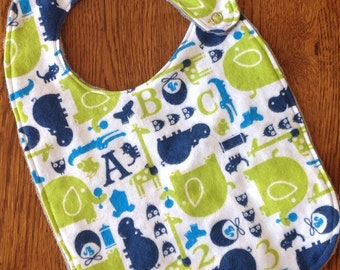 NEW...Jungle Baby Minky Toddler/Baby Bib
