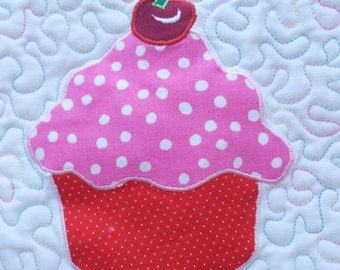 Applique for Cupcake