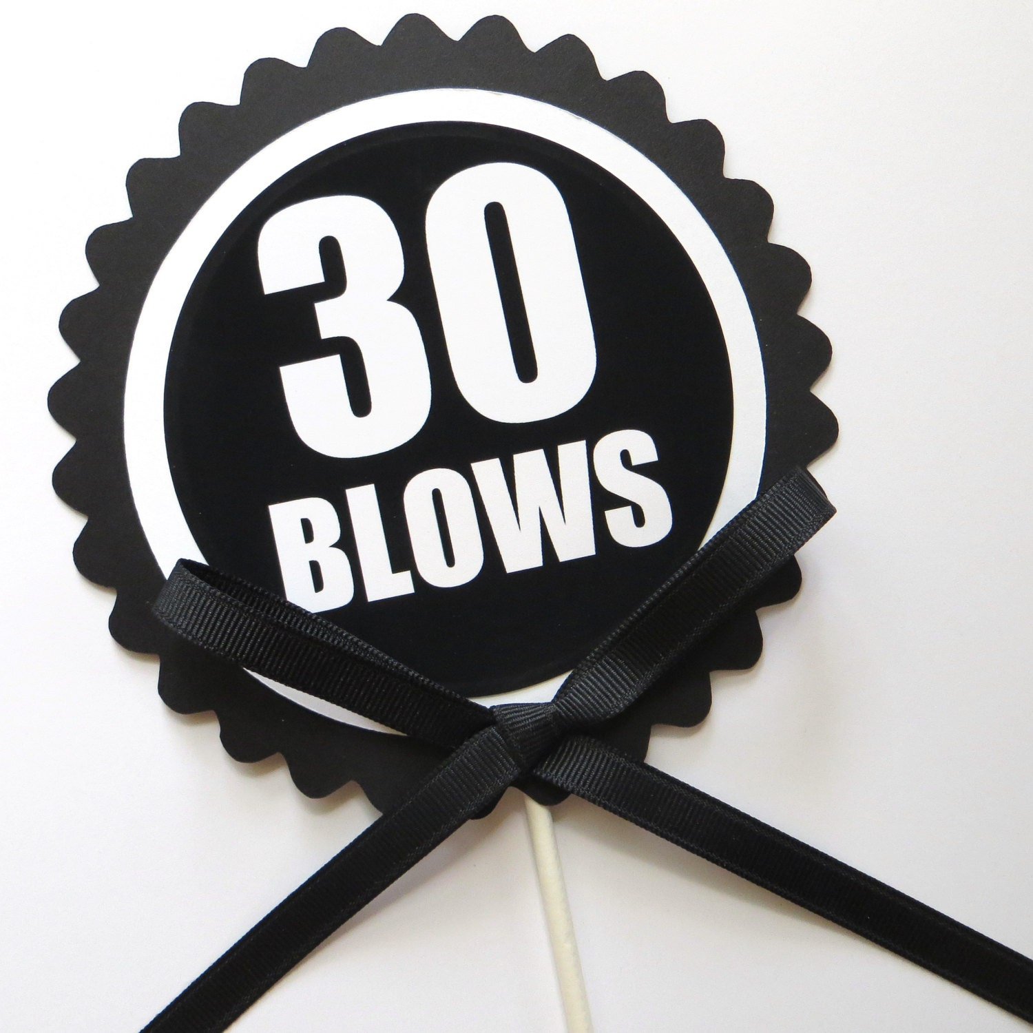30th birthday cake topper 30 blows cake decoration for 30 cake decoration