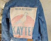 Kaytee Pigeon Feed - Tommy Hilfiger Rhinestoned Jean Jacket