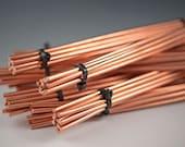 "Copper Wire...6gauge, 6pc lots of 9"" copper wire, Metalsmith, cuff bracelets, bangle bracelets, jewelry designers, artisan jewelry wire"