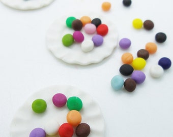Miniature Foods Polymer Clay Supplies Sweets for Dollhouse Collection 1 piece