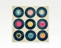 Popular Items For Vinyl Record Art On Etsy