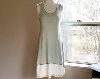 Country Charmer tank dress  (hemp/organic cotton)