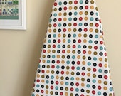 Ironing Board Cover - Mad Mend Buttons in offwhite