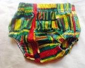 African print cotton diaper nappy cover bloomers