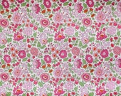 LIBERTY OF LONDON Tana Lawn Sweet Pink D'Anjo By The Fat Eighth