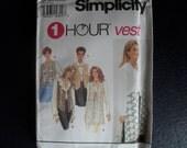 Simplicity New pattern for 1 Hour Vest UnCut 8744