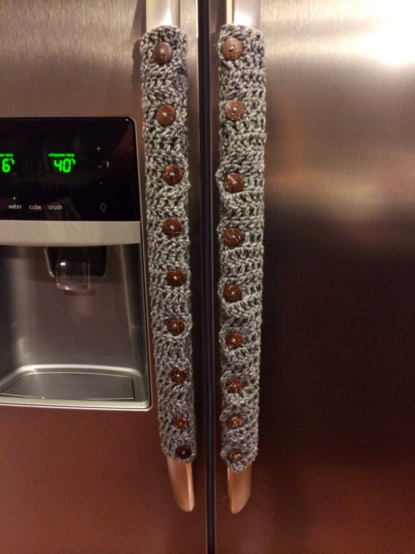 Crocheted Fridge Handle Covers
