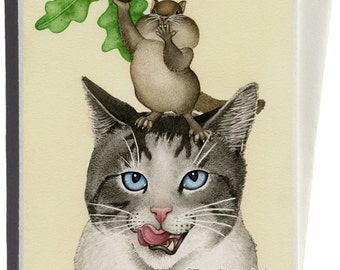 Suppertime Greeting Card by Tracy Lizotte