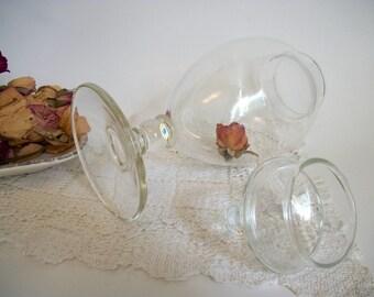 SALE, Vintage Apothecary Jar, Display Jar, Lidded Glass Jar,  Lidded Display Jar, Wedding Candy Buffet Jar