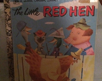 The Little. Red Hen    A little golden book  1980