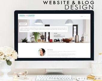 squarespace website design and/or blog design - custom website design - professional website design - blog design