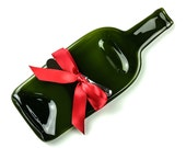 Christmas Gift Cheese Tray, Melted Wine Bottle, Christmas Party, Unique Gift Ideas, Hostess Gift, Host Gift, Red Wine, One of a Kind Gift