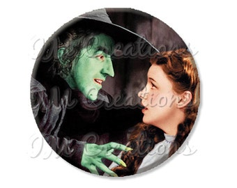"Pocket Mirror, Magnet or Pinback Button - Wedding Favors, Party themes - 2.25""- Wizard of Oz My Pretty MR412"