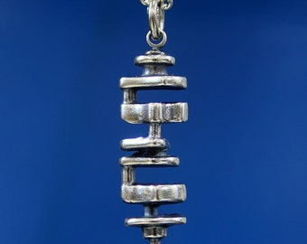 Crankshaft Necklace Crank Shaft Pendant 483