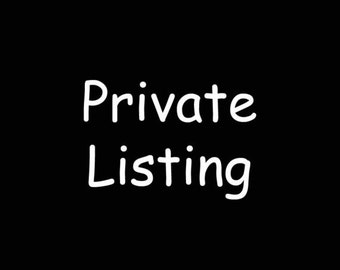 Private Listing for Lillian